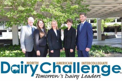 2017 Virginia Tech Dairy Challenge Team