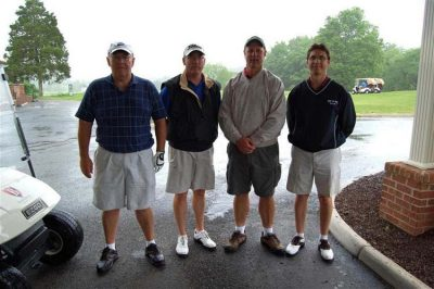 The Old Mill-Troy Inc. Pictured left to right: Steve Bird, Tom Buck, Mark Wenger, Patrick French.
