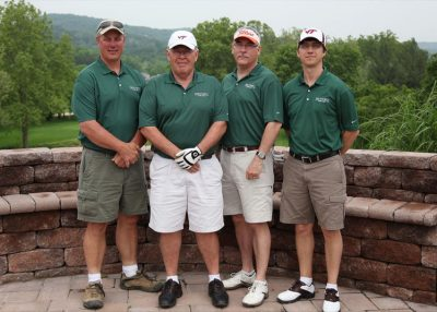 2011 Hokie Cow Classic. Old Mill Troy--(left to right) Mark Wenger, Steve Byrd, Tom Buck, Patrick French.