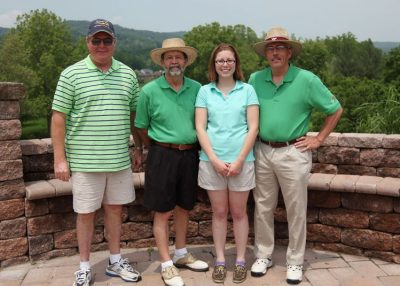 2011 Hokie Cow Classic. Southern States / DSM -- (left to right) Bob Moseley, Daniel Laprade, Michelle Aguilar, Bob Webb.