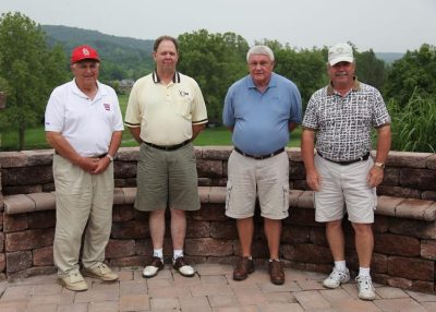 2011 Hokie Cow Classic. DFA -- (left to right) Jerry Henderson, Bob Shipley, Jim Reese, Roger Greenway.