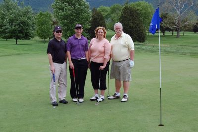 2013 LeSaffre team members: Julie Bowman, Jim Moore, Dave Durr, RJ Bowman