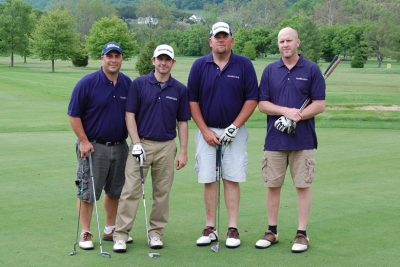 2013 Paul Mueller Company team members: Chuck Hazelwood, JJ Kinsey, Reed Schofield, Rodney Jones