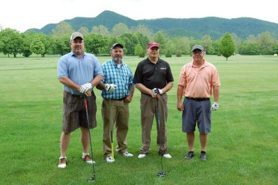 2013 Purina team members: Jim Huffard, Blair Sanders, Jim Baker, Mike Sumners