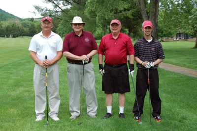 2013 VCOM team members: Jim Wolfe, Jim Viers, Kevin Price, Kenny Smith