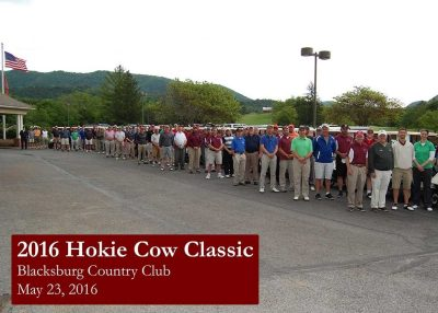 2016 Hokie Cow Classic Group