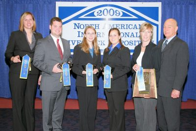 2009 Team B: Caitlin Patrick, Parker Welch, Dana Gochenour, Rosemary Liskey *1st at Louisville
